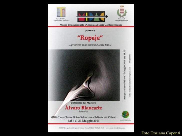 Inauguracion expo Blancarte MIDAC