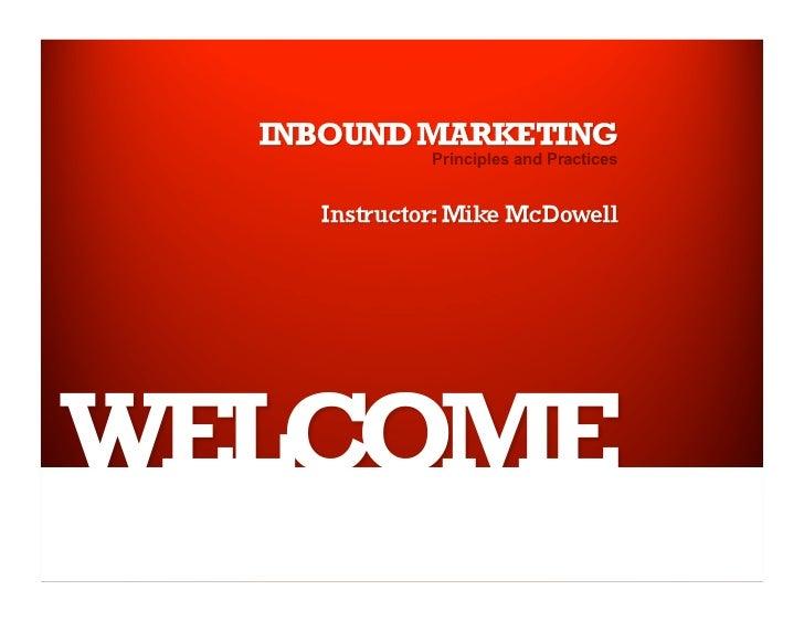 UNR Extended Studies Inbound Marketing Class 2