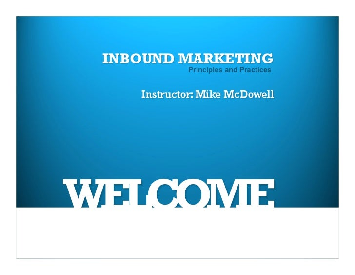 UNR Extended Studies Inbound Marketing CLASS 1