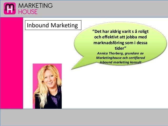 Inbound marketing  ett nytt marknadsföringsbegrepp