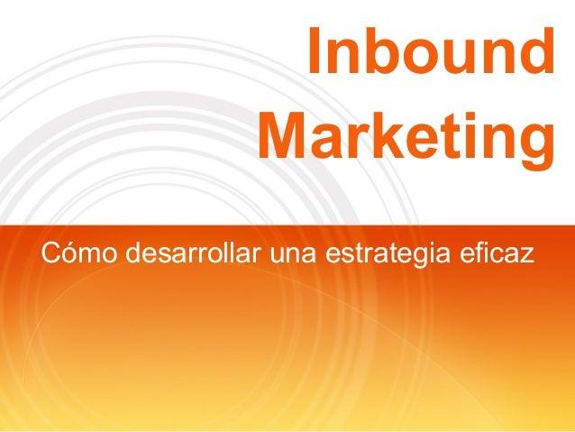 Inbound marketing by Pau Llambí