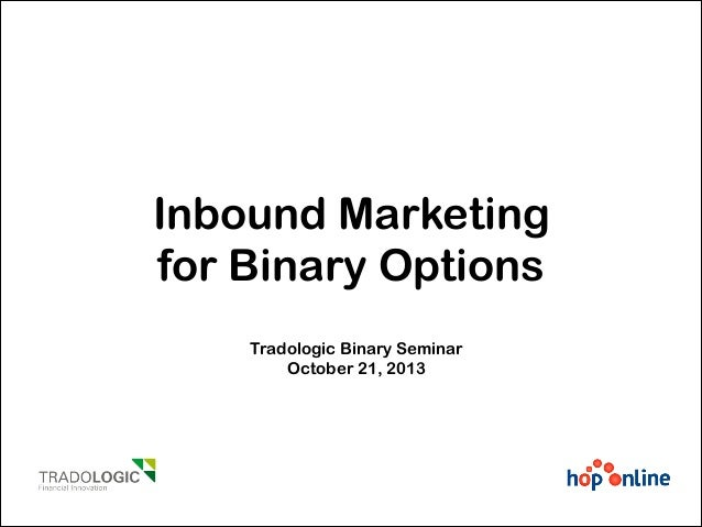 Inbound Marketing for Binary Options Brokers