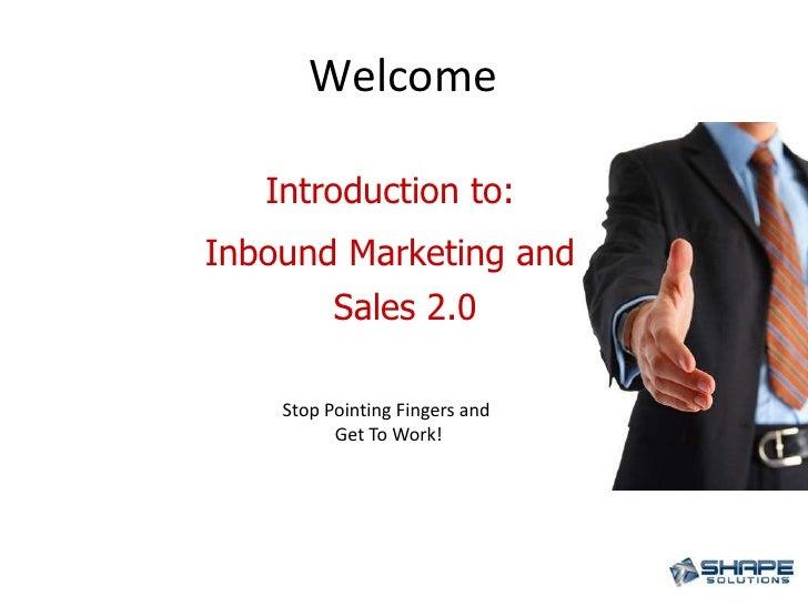 Inbound marketing & Sales 2.0