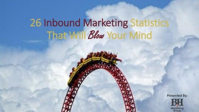 26 Inbound Marketing Statistics That Will Blow Your Mind Presented By: