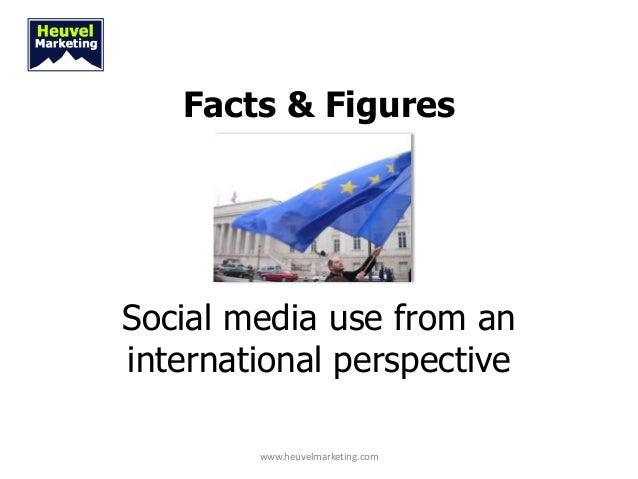 Facts & FiguresSocial media use from aninternational perspective        www.heuvelmarketing.com