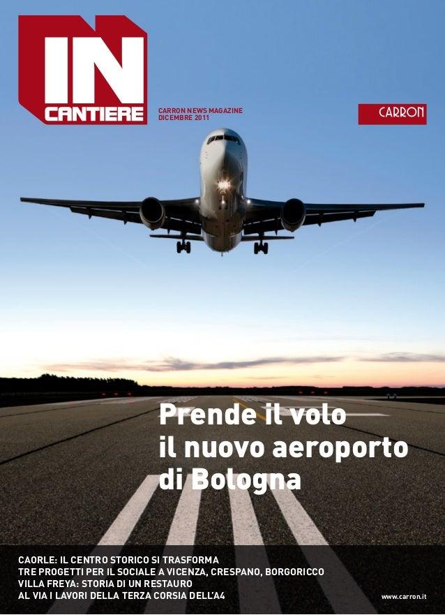 Il nuovo aeroporto di Bologna - house organ Carron spa