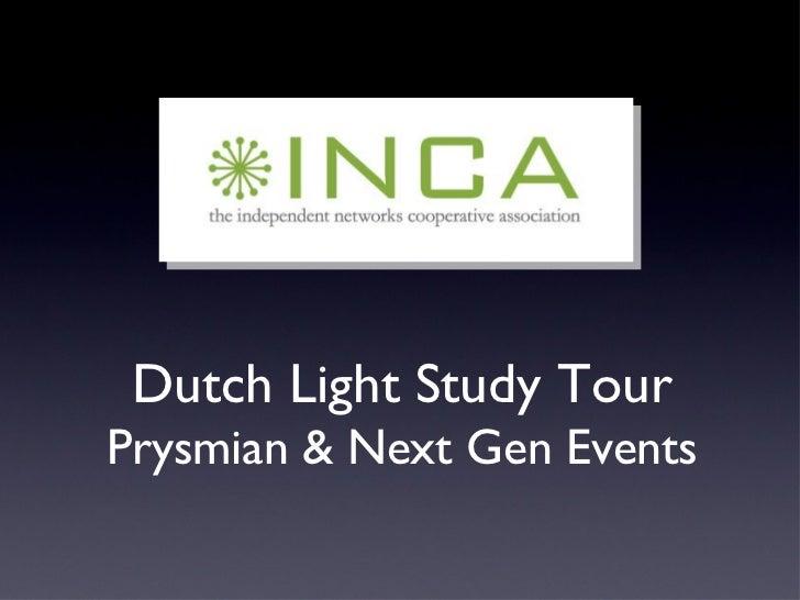 Inca Update