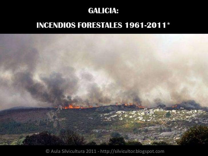 Incendios forestales galicia 1961 2011