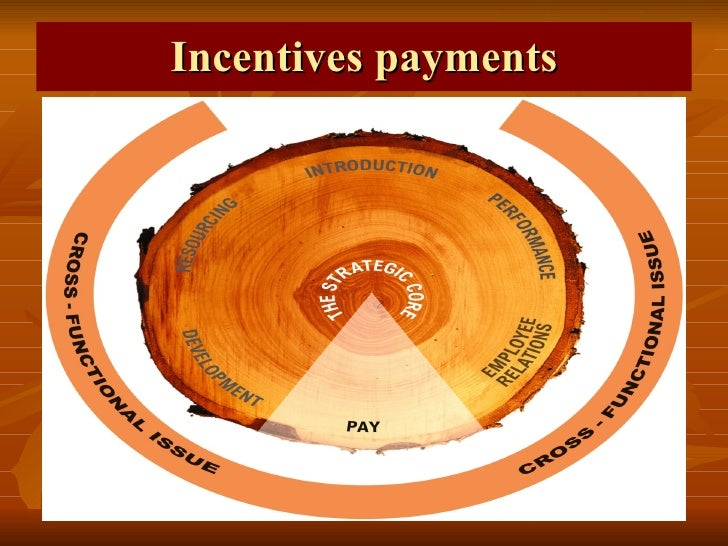 Incentives payments