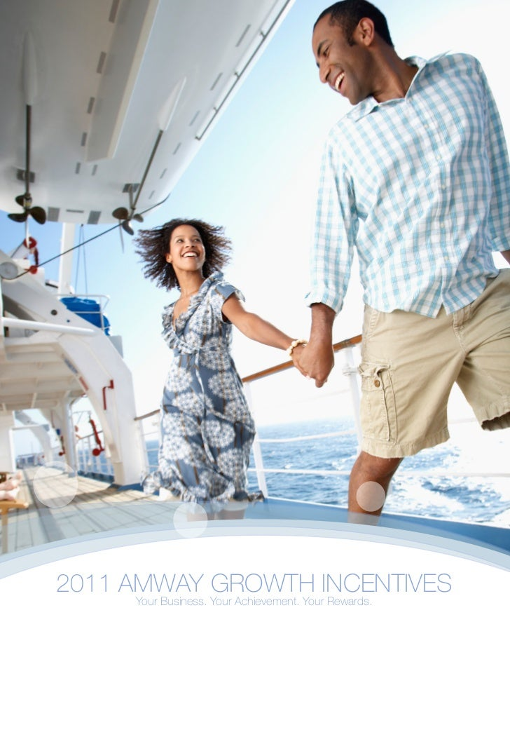 2011 AMWAY GROWTH INCENTIVES     Your Business. Your Achievement. Your Rewards.
