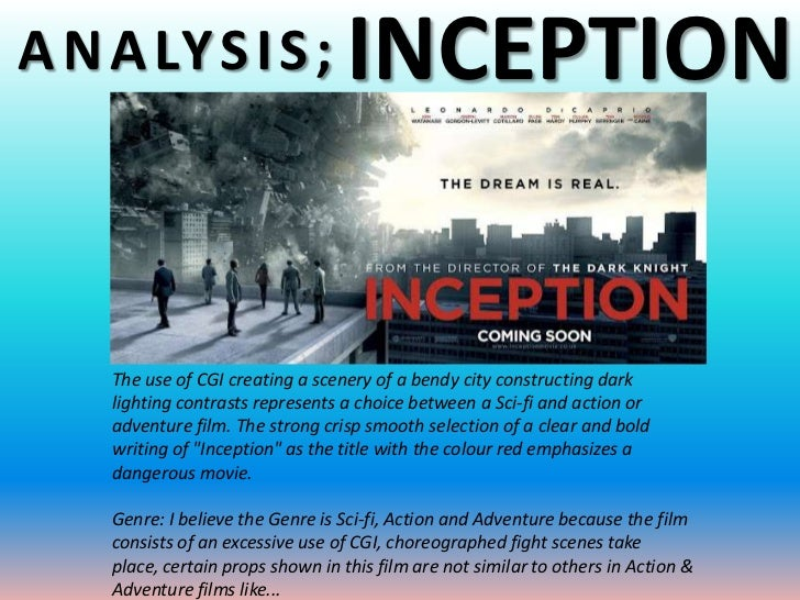 Meaningful Storytelling: An Analysis of Inception