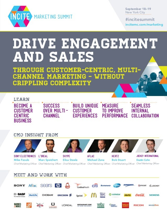 The Incite Summit East 2013: Conference Brochure