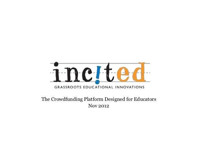 IncitEd Presentation Deck