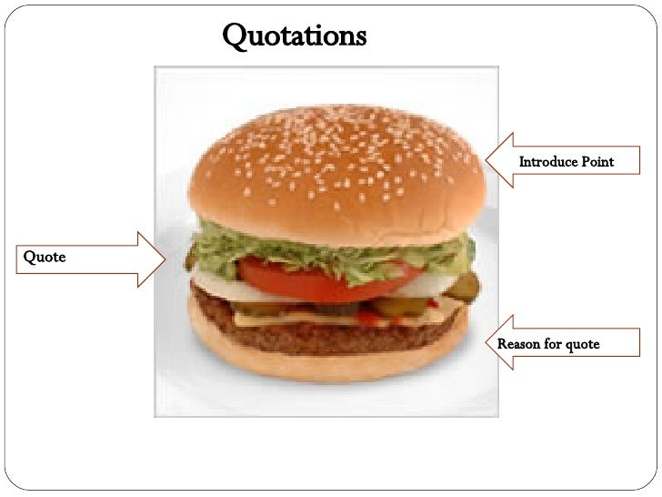 Sandwhich Quotes