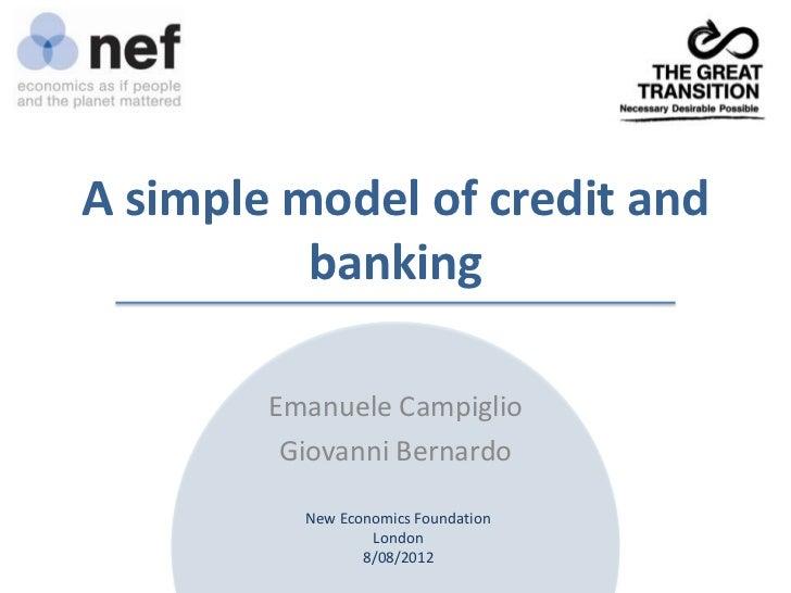 Including banks in macro models (finally!)