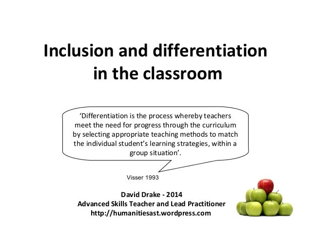 the application and impact of the technique of inclusion in classroom education 18 inclusion strategies for student if you are a teacher of students within an inclusion classroom teachhub brings you the latest in education.