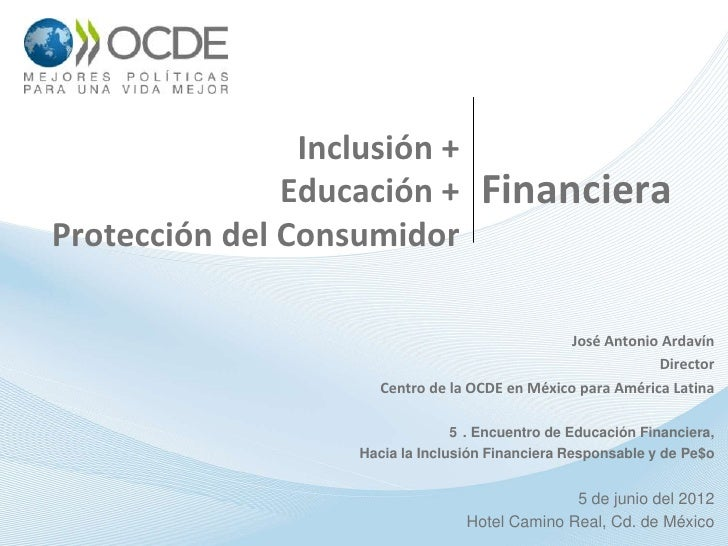 Inclusion y educación financiera banamex jun 2012