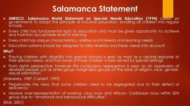 salamanca statement