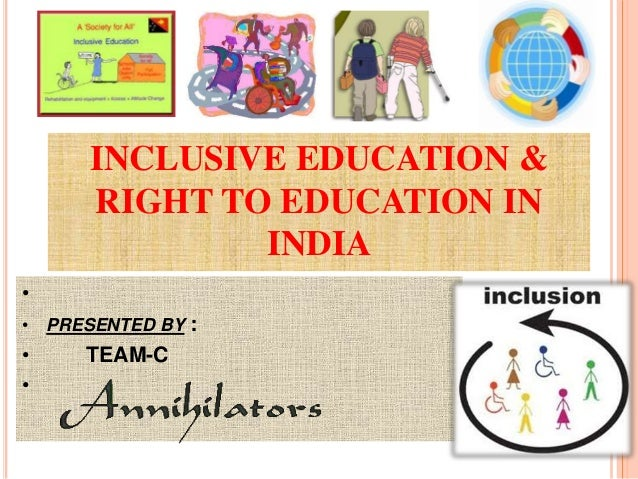 what is inclusive education and how Recent articles question whether inclusive education can do more harm than good however, neither article presents examples of inclusion rather, they present tragic examples of exclusion that are claimed to be inclusion-not-working.