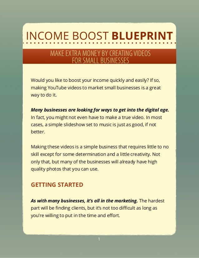 Income boost-blueprint-creating-videos-for-small-businesses