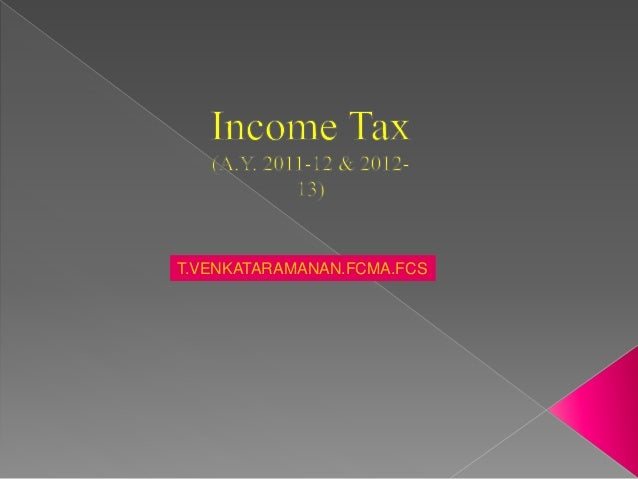 Income tax-ppt-revised