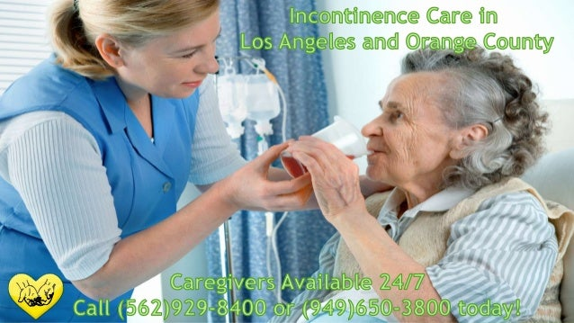 Incontinence care in Los Angeles and Orange County
