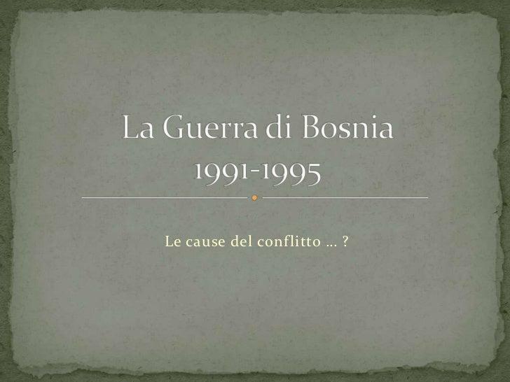 Incontro bosnia