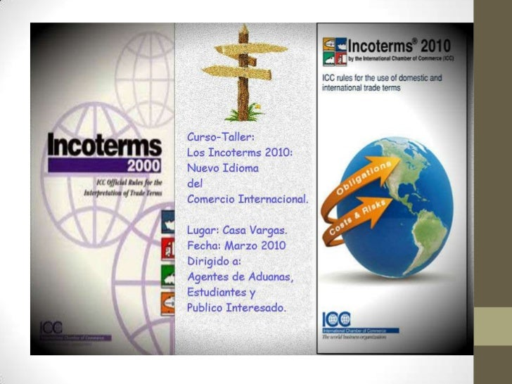 Incoterms 2010. 1 parte