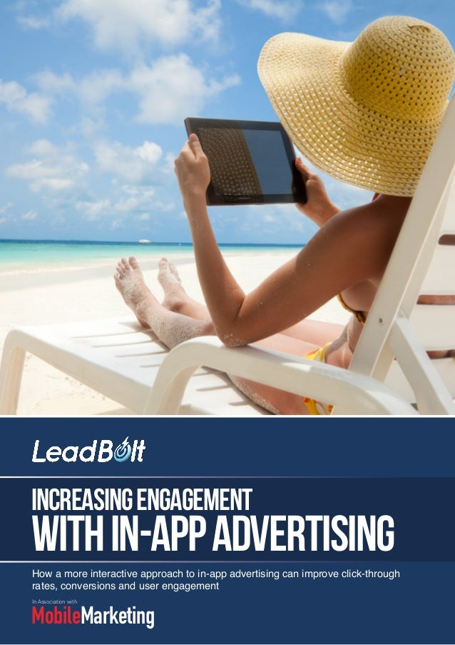 Increase Engagement With in App Advertising 2013
