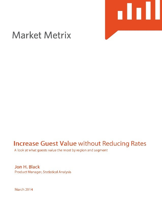 Increase guest value without reducing hotel rates