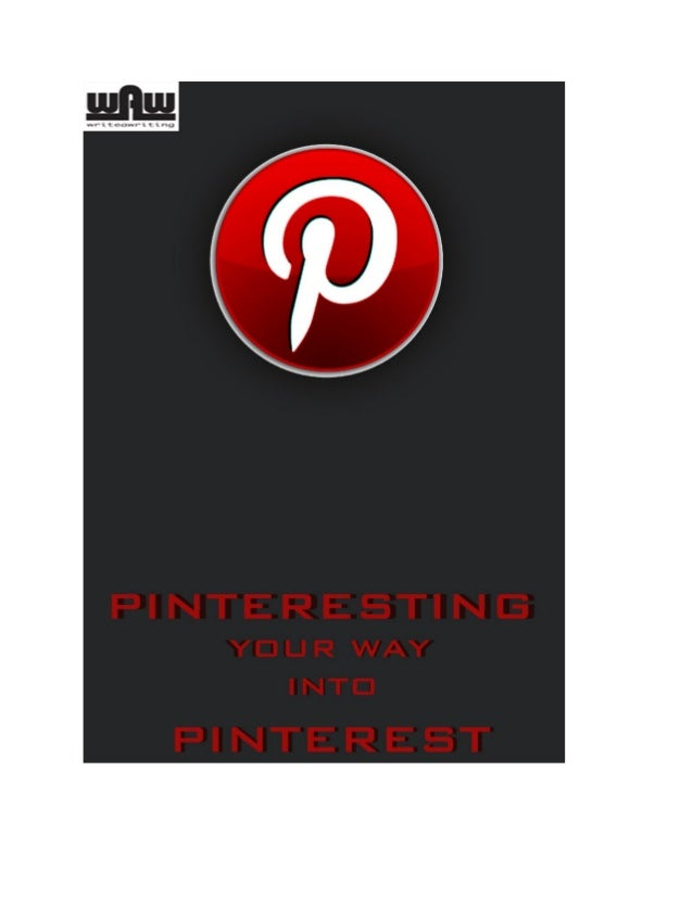Increase your pinterest fans by pinteresting the smart way