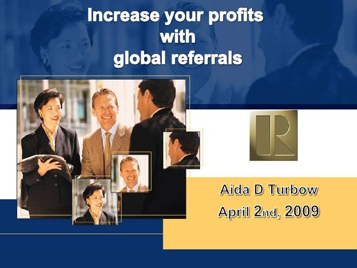 Increase Your Profits...Global