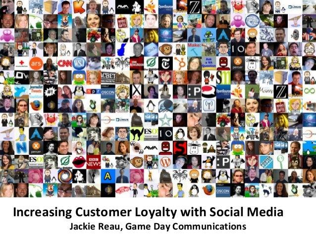 Increasing customer loyalty with social media, 2 13
