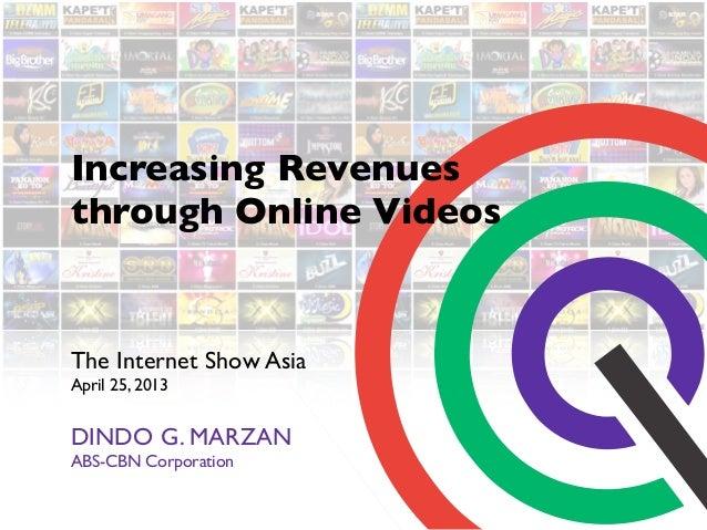 Increasing Revenues through Online Videos