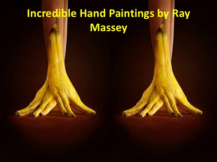 Incredible Hand Paintings by Ray            Massey