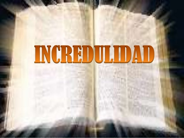 Incredulidad