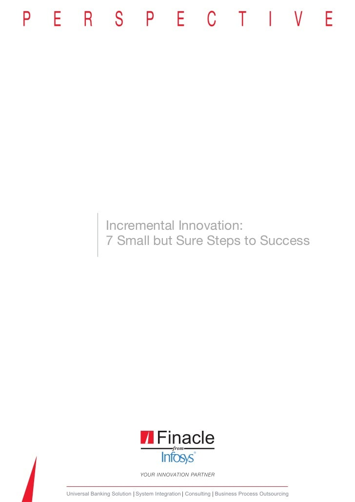 Incremental Innovation:7 Small but Sure Steps to Success