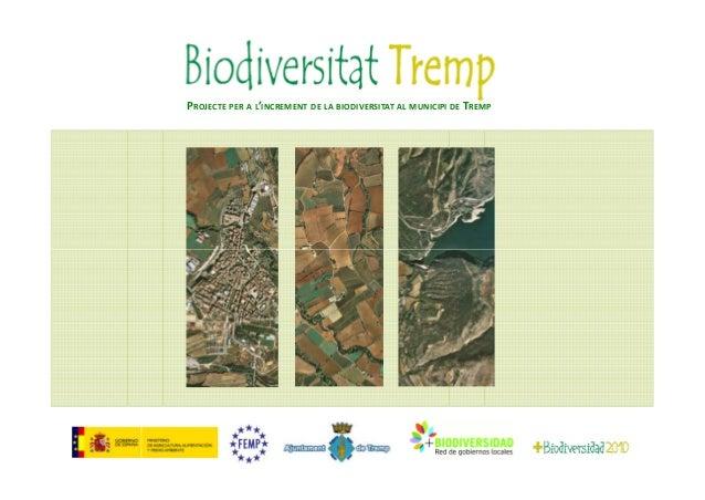 Incremento biodiversidad tremp