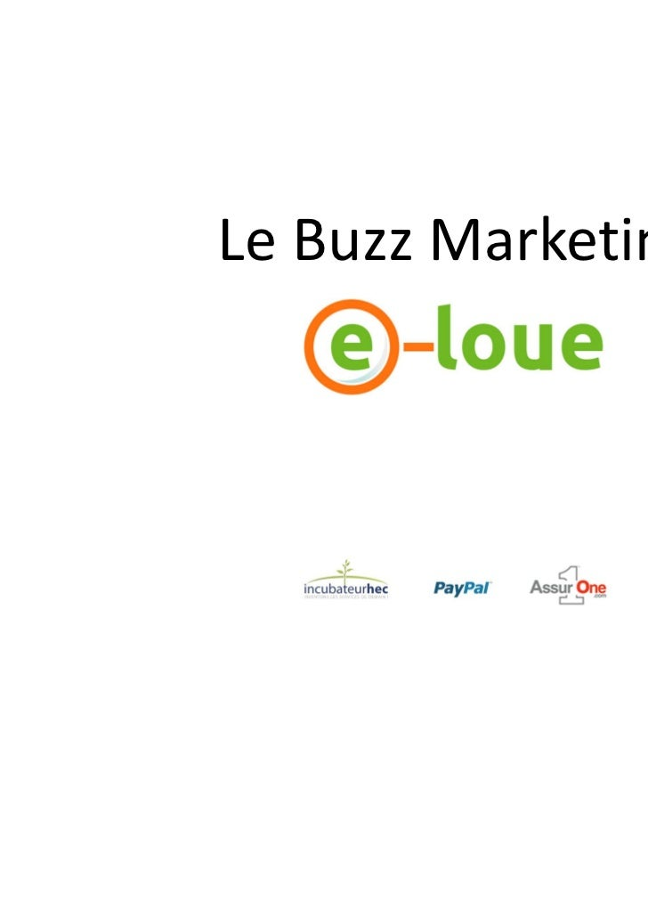 Le Buzz Marketing