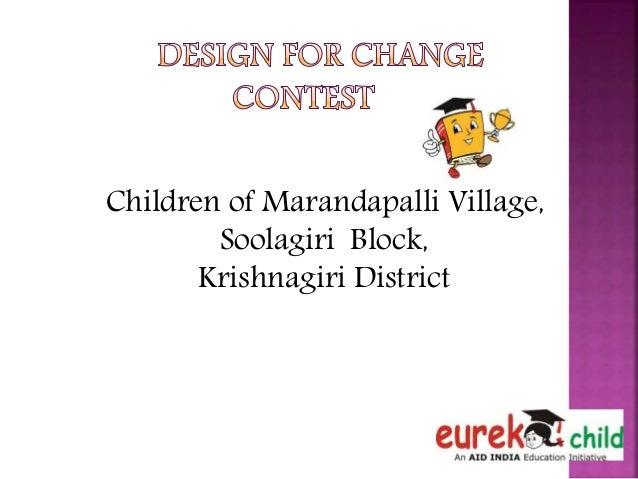 Children of Marandapalli Village, Soolagiri Block, Krishnagiri District