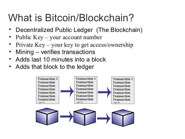 Bitcoin Amp Blockchain Basics