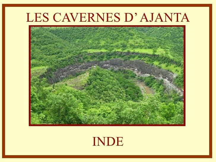 Inde   Cavernes d' Ajanta