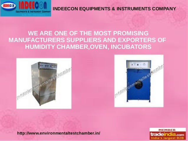 INDEECON EQUIPMENTS & INSTRUMENTS COMPANY WE ARE ONE OF THE MOST PROMISING MANUFACTURERS SUPPLIERS AND EXPORTERS OF HUMIDI...