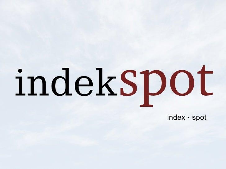 Indekspot.com - Trouble free Apache Solr