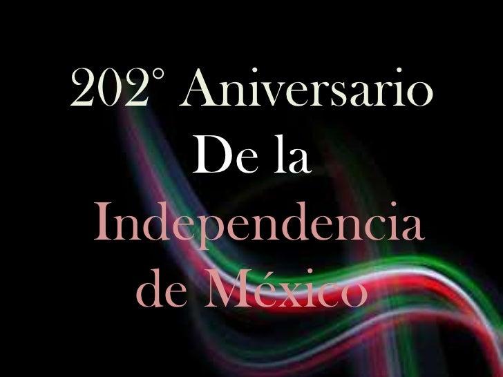 Independencia de mexico,linea del tiempo
