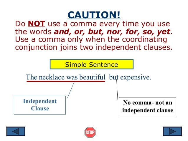 Commas and Dependent Clauses?