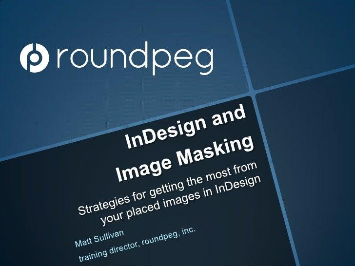 InDesign, image masking, layer visibility controls