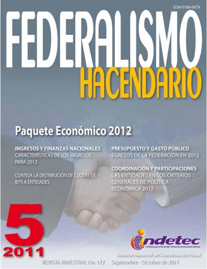 Federalismo hacendario Indetec 172
