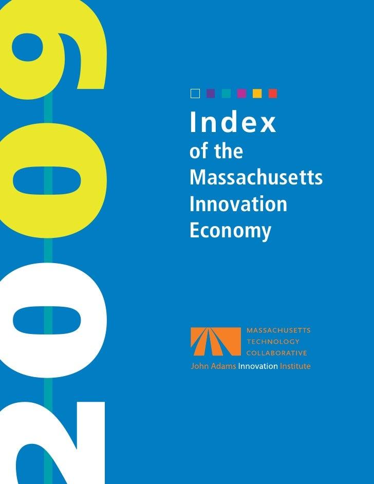 2009 Index of the Massachusetts Innovation Economy
