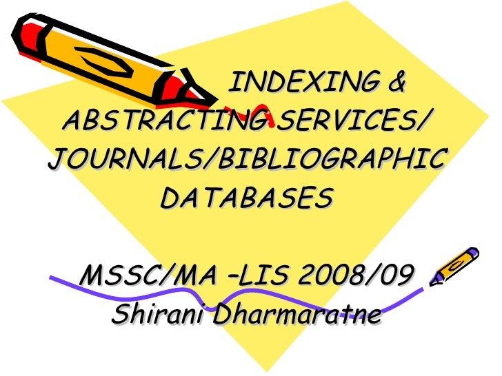 Index&abst